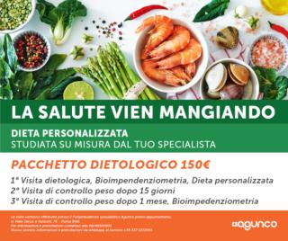 Pacchetto dietologico Poliambulatorio AGUNCO ROMA Colli Aniene